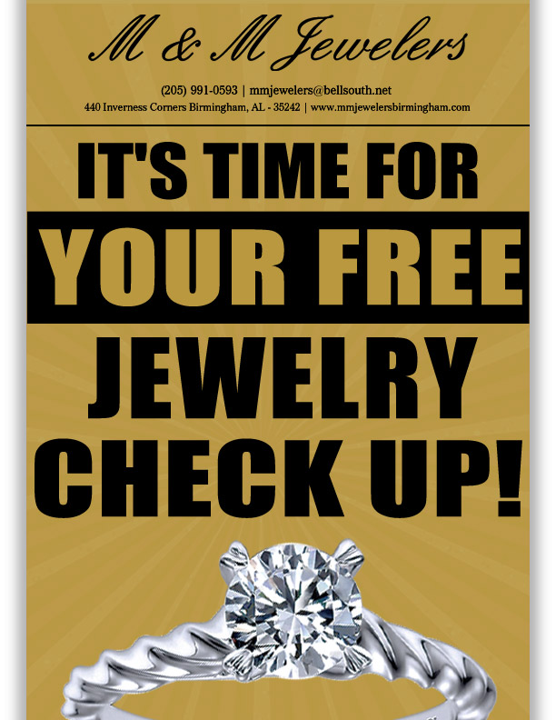 Time for Free Jewelry Checkup