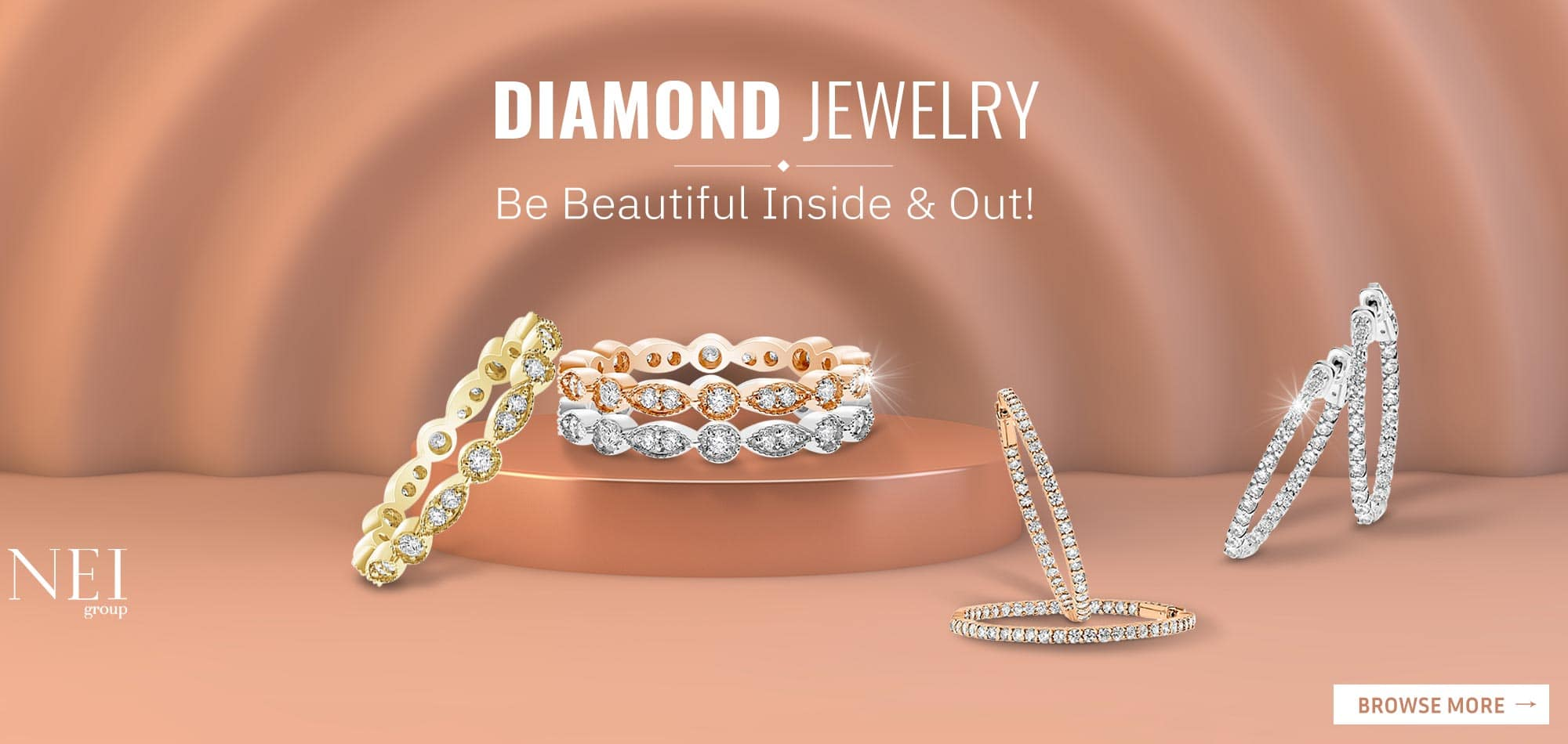 NEI Group Jewelry Collection Available At M&M Jewelers