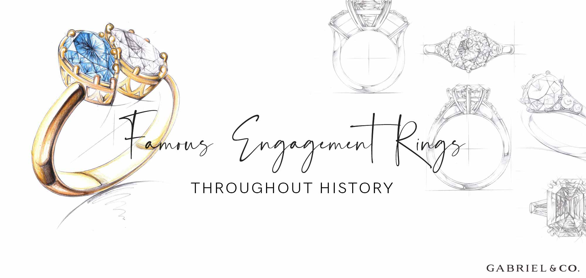 Learn about Famous Engagement Rings Throughout History At M&M Jewelers
