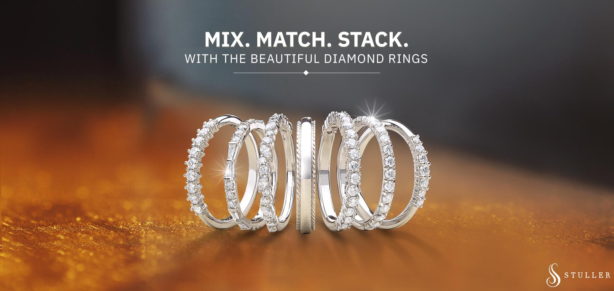Shop Stackable Rings At M&M Jewelers