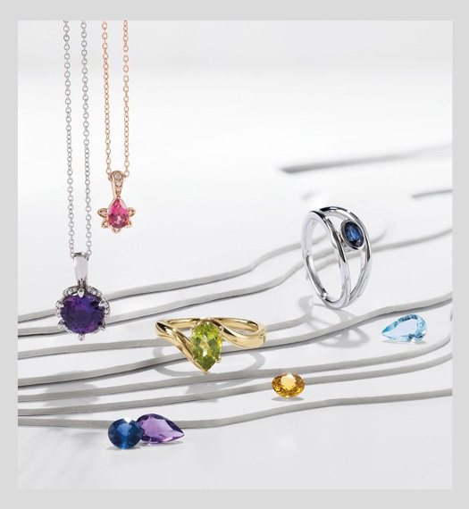 Shop Birthstone Jewelry At M & M JewelersAvailable At M & M Jewelers