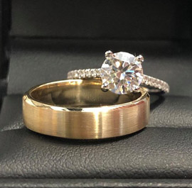 Engagement Rings At M & M jewelersAvailable At M & M Jewelers