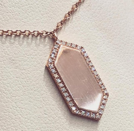 Shop Rose Gold Pendants At M & M JewelersAvailable At M & M Jewelers