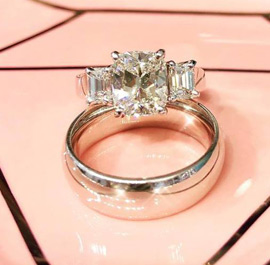 Three Stone Diamond Rings At M & M JewelersAvailable At M & M Jewelers